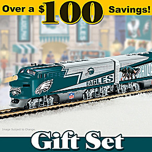 Philadelphia Eagles Express Train Set