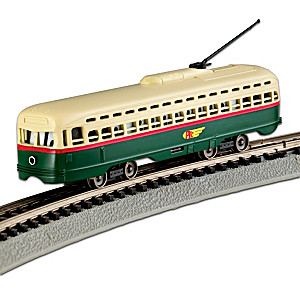 N-Scale Powered PTC Street Car