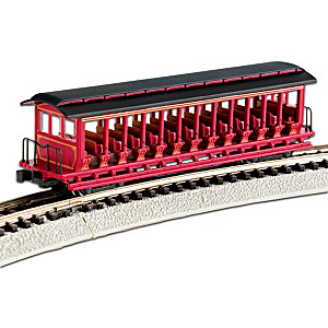 N-Scale Jackson Sharp Open-Sided Excursion Car