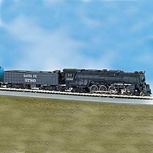 """The Empire Builder"" 10-Car N-Scale Lighted Train Set"