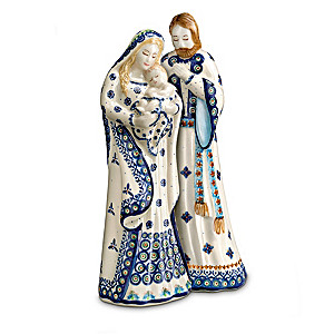 Boleslawiec Polish Stoneware Pottery Nativity Set