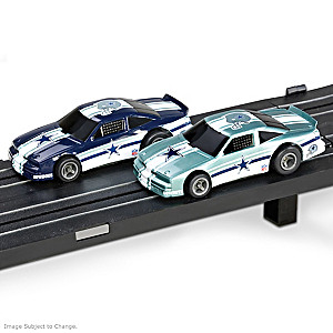 1/87 HO-Scale Dallas Cowboys Electric Slot Car Set