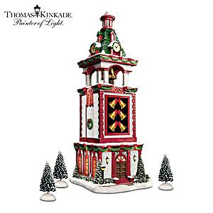 Thomas Kinkade Musical Christmas Bell Tower