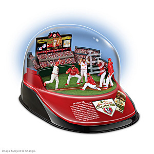 Cardinals 2011 World Series Batter's Helmet Sculpture