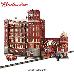 Budweiser® Brew House Illuminated Building Sculpture