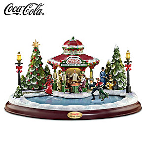 "COCA-COLA ""Victorian Holiday"" With Lights, Motion And Music"