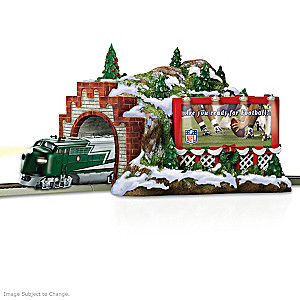 "NFL ""Christmas Mountain"" Train Tunnel"