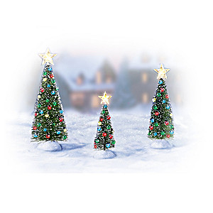 Christmas Tree Accessory Figurine Set