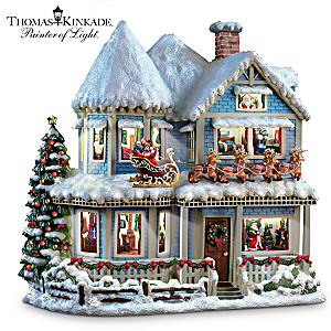 "Thomas Kinkade Narrated ""Christmas Story"" House"