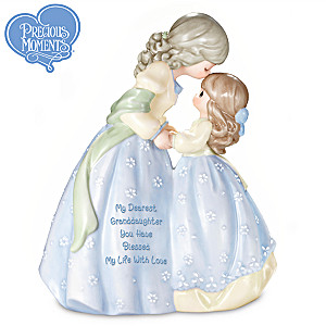 Precious Moments Musical Figurine For Granddaughter