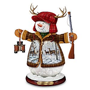 Persis Clayton Weirs Deer Art Snowman