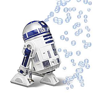 STAR WARS R2-D2 Bubble Machine With Droid Sounds