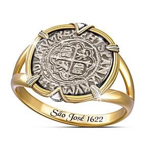 São José Shipwreck Silver Women's Ring