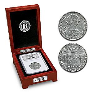 America's First Silver Quarter El Cazador Shipwreck Coin
