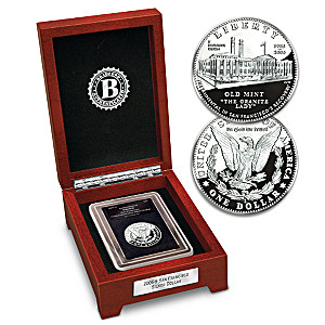 "The ""Only"" Legal Tender 21st Century Morgan Silver Dollar"