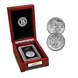 """1888-O The Only """"Hot Lips"""" Morgan Silver Dollar Coin"""