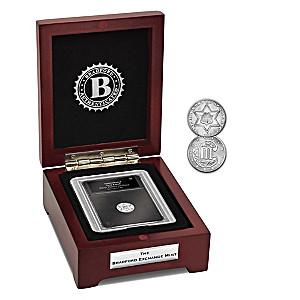 The Only Silver U.S. 3-Cent Piece Coin With Display Box