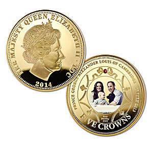 The New Royal Prince Gold Five Crown Photographic Coin