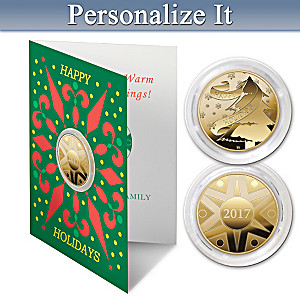 The 2017 Golden Keepsake Personalized Proof Coin Card Set