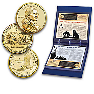 Native American Golden Dollar Uncirculated Coins