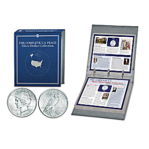 The Complete U.S. Peace Silver Dollar Coin Collection