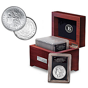 Rare U.S. Morgan Silver Dollar Collection: 1878-1921
