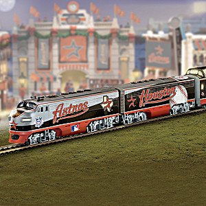 """Houston Astros Express"" Train Collection"