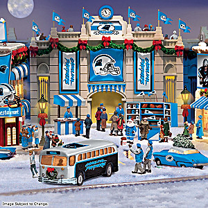 Carolina Panthers Illuminated Christmas Village Collection