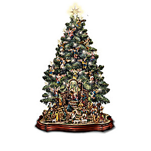 Nativity Scene Tabletop Christmas Tree Collection
