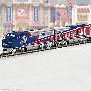 Patriots Super Bowl LI Champions Electric Train Collection