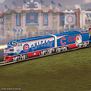 """Chicago Cubs Express"" Train Collection"