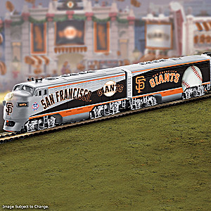 """San Francisco Giants Express"" Train Collection"