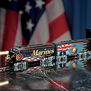 """HO-Scale """"USMC Express"""" Electric Train Collection"""