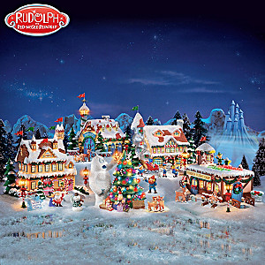 Rudolph The Red Nosed Reindeer Holiday Village Collection