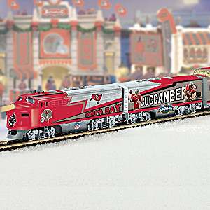 """Tampa Bay Buccaneers Express"" Illuminated Electric Train"