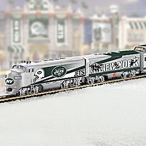 """New York Jets Express"" Illuminated Train Collection"