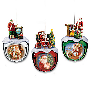 "Dona Gelsinger's ""Santa Sleigh Bells"" Ornament Collection"