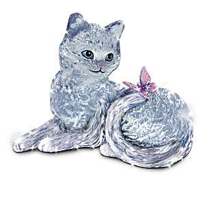Crystal Cat Figurine Collection