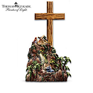 Illuminated Thomas Kinkade Easter Story Sculpture Collection