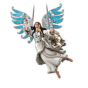 Native American-Inspired Maidens With Translucent Wings