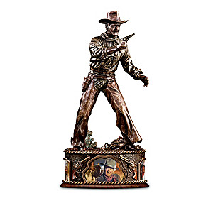 John Wayne: American Hero Bronze-Finished Sculptures