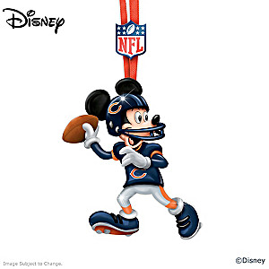 Chicago Bears Disney Character Ornament Collection