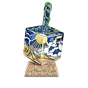 """Seven Days Of Creation"" Art Glass Dreidel Collection"