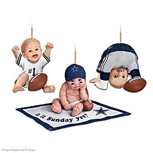 Dallas Cowboys Fan Baby Ornament Collection