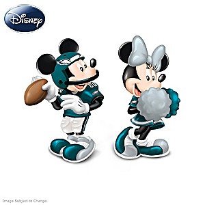 Mickey And Minnie Eagles Salt And Pepper Shakers