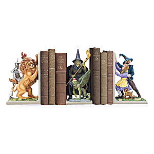 The Wonderful Wizard Of Oz 3-Piece Bookend Collection