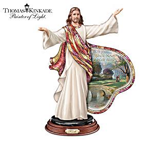 "Thomas Kinkade ""Illuminations Of The Lord"" Sculptures"