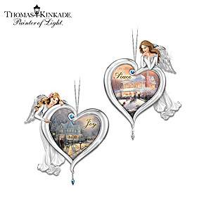 Thomas Kinkade Heartfelt Blessings Ornament Collection