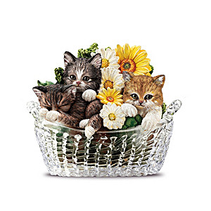 """Garden Purr-fection"" Figurine Collection"