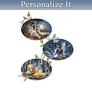 Russ Docken Spiritual Art Personalized Plate Collection